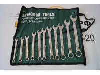 Набор инструментов  11 предметов (ключи р/накидные 8-22мм) сумка