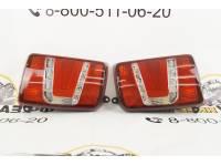 Фонарь задний ЛАДА НИВА (ВАЗ 2121, 21213, 21214, 2131) красно-белый диодный комплект R+L