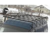 Багажник Пролет усиленный на ГАЗель, Соболь, Баргузин, 12 опор