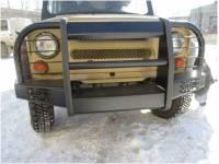 Бампер передний на УАЗ 469 Корсар увеличенный