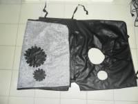 Утеплитель лобовой и дверей (в/кожа, ватин) №3 на УАЗ Буханка