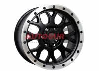 Диск колесный литой ROULETTE черно-серебристый 16x8 5X139.7 d108 ET 7 PDW