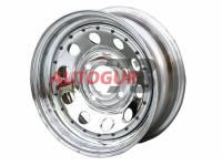 Диск колёсный УАЗ 6,5хR16 ET0 (5*139,7, d110) хромированный redBTR